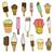 set of ice cream stock photo © frescomovie