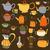conjunto · vetor · café · chá · saco · preto - foto stock © frescomovie