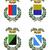 négy · olasz · heraldika · gyűjtemény · tulajdonságok · tipikus - stock fotó © fresh_7266481