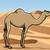 sivatag · illusztráció · aranyos · vicces · rajz · teve - stock fotó © fresh_7266481