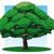 樫の木 · 実例 · ツリー · 草 · 緑 · 支店 - ストックフォト © fresh_7266481