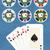 set poker chips stock photo © fresh_7266481