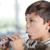 boy playing recorder stock photo © freshdmedia