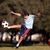 футбольным · мячом · парка · подлинный · действий - Сток-фото © Freshdmedia