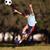 fiatal · srác · rúg · futballabda · park · autentikus · tevékenység - stock fotó © Freshdmedia