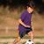 garçon · jouer · football · fin · après-midi · lumière - photo stock © Freshdmedia