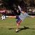 fiatal · srác · játszik · futballabda · park · copy · space · futball - stock fotó © Freshdmedia