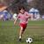 garçon · jouer · football · parc · courir · caméra - photo stock © Freshdmedia