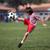 garçon · jouer · football · parc · authentique · action - photo stock © Freshdmedia