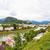 folyó · óváros · hazugság · zöld · dombok · Ausztria - stock fotó © frimufilms