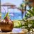 kókusz · gyümölcsfa · közelkép · trópusi · fa · gyümölcs - stock fotó © frimufilms