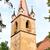 öreg · katolikus · templom · égbolt · épület · kő - stock fotó © frimufilms