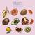 collectie · vintage · retro · voedsel · iconen · ontwerp - stockfoto © frimufilms