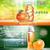 digital vector red and orange shower gel stock photo © frimufilms
