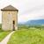 panoramica · view · castello · blu · colore · panorama - foto d'archivio © frimufilms