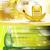 digitale · vettore · giallo · verde · doccia · gel - foto d'archivio © frimufilms