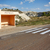 busz · állomás · kilátás · dombok · mezők · mészkő - stock fotó © frimufilms