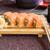 japán · szusi · tekercsek · maki · friss · vacsora - stock fotó © frimufilms