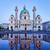 Viena · Áustria · manhã · nascer · do · sol · piscina · urbano - foto stock © frimufilms