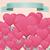 Baloon Heart Card stock photo © frostyara
