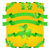 装飾的な · クローバー · リボン · 緑 · 黄色 - ストックフォト © frostyara