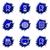 lucido · set · icone · web · 22 · computer - foto d'archivio © Fyuriy