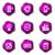 набор · веб-иконы · 16 · фиолетовый - Сток-фото © Fyuriy