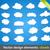 konuşmak · bulutlar · stil · mürekkep · grafik · ayarlamak - stok fotoğraf © fyuriy