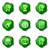 lucido · set · icone · web · 22 · verde - foto d'archivio © Fyuriy