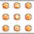 набор · веб-иконы · 10 · металлический - Сток-фото © Fyuriy