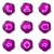 набор · веб-иконы · 12 · фиолетовый - Сток-фото © Fyuriy