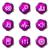 набор · веб-иконы · 15 · фиолетовый - Сток-фото © Fyuriy