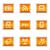 набор · 12 · веб-иконы · см. - Сток-фото © fyuriy