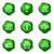 establecer · iconos · de · la · web · 13 · verde - foto stock © Fyuriy