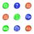 lucido · set · icone · web · 13 · colore - foto d'archivio © Fyuriy