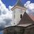 tour · vieux · château · bleu · nuages · ciel - photo stock © Fyuriy