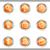 lucido · set · icone · web · 24 · metallico - foto d'archivio © Fyuriy