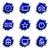 lucido · set · icone · web · internet · clock - foto d'archivio © Fyuriy