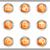 набор · веб-иконы · 20 · металлический - Сток-фото © Fyuriy