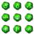establecer · iconos · de · la · web · 19 · verde - foto stock © Fyuriy