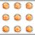 набор · веб-иконы · 12 · металлический - Сток-фото © Fyuriy