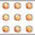 набор · веб-иконы · 18 · металлический - Сток-фото © Fyuriy