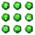 lucido · set · icone · web · 16 · verde - foto d'archivio © Fyuriy