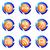 icônes · web · isolé · bouton - photo stock © Fyuriy