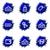 lucido · set · icone · web · internet · abstract - foto d'archivio © Fyuriy