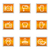 home · internet · pictogrammen · ingesteld · grunge · zwart · wit · web - stockfoto © fyuriy