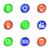 bio · carburant · couleur · vecteur · icônes - photo stock © fyuriy