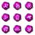 набор · веб-иконы · 17 · фиолетовый - Сток-фото © Fyuriy