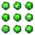 lucido · set · icone · web · 20 · verde - foto d'archivio © Fyuriy