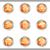 набор · веб-иконы · 17 · металлический - Сток-фото © Fyuriy